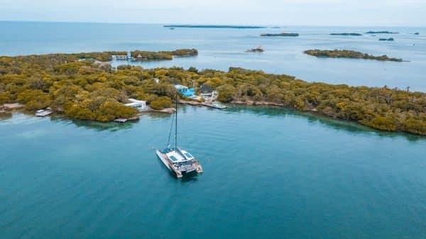 Catamaran Rosario Islands
