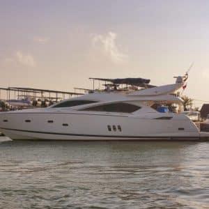 Yacht 82 ft Sunseeker