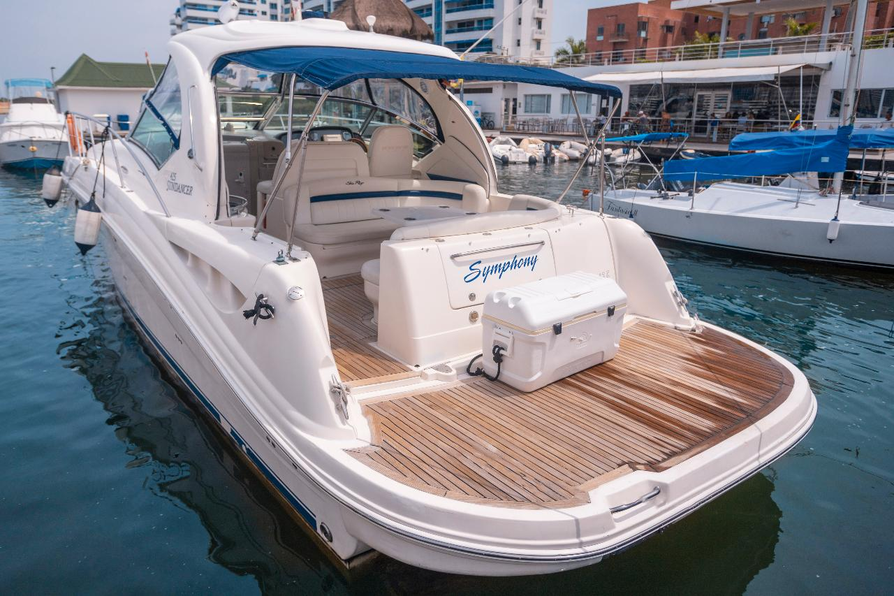 42.5ft Searay Cruiser