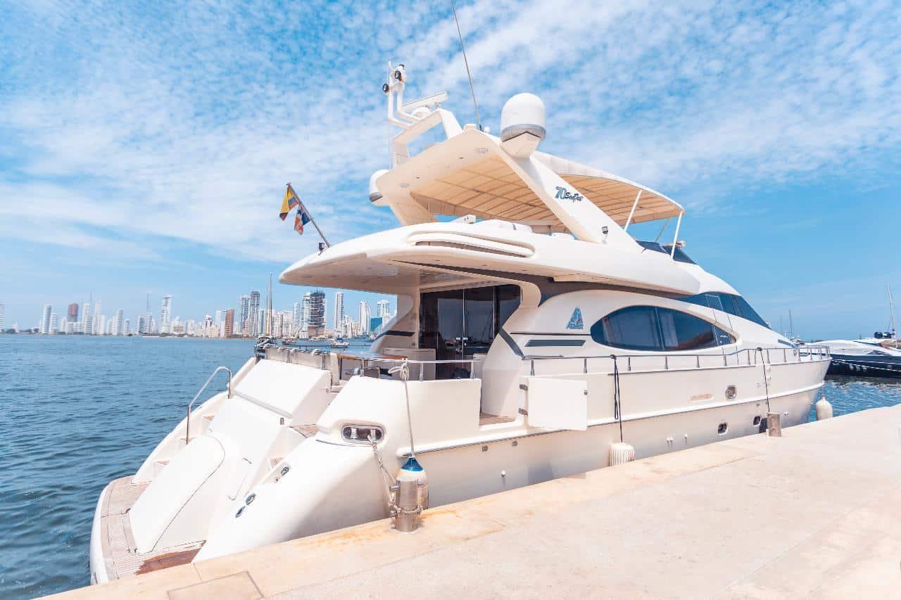 70-ft Azimut Yacht