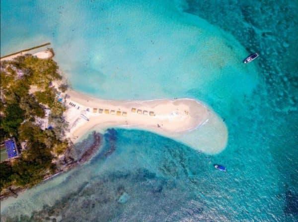 bendita beach island