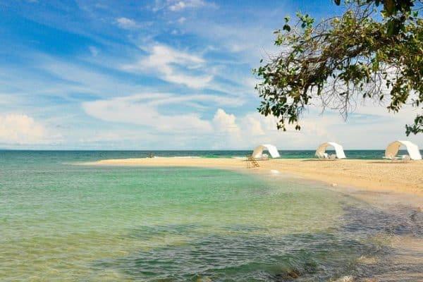 bendita beach rosario islands
