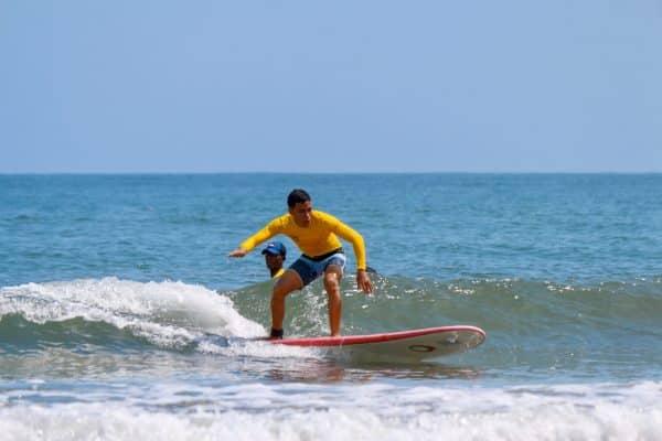 Surf Class in Cartagena