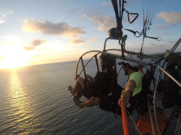 Paraglide Cartagena .