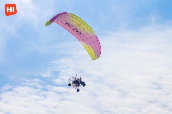 Paragliding in Cartagena