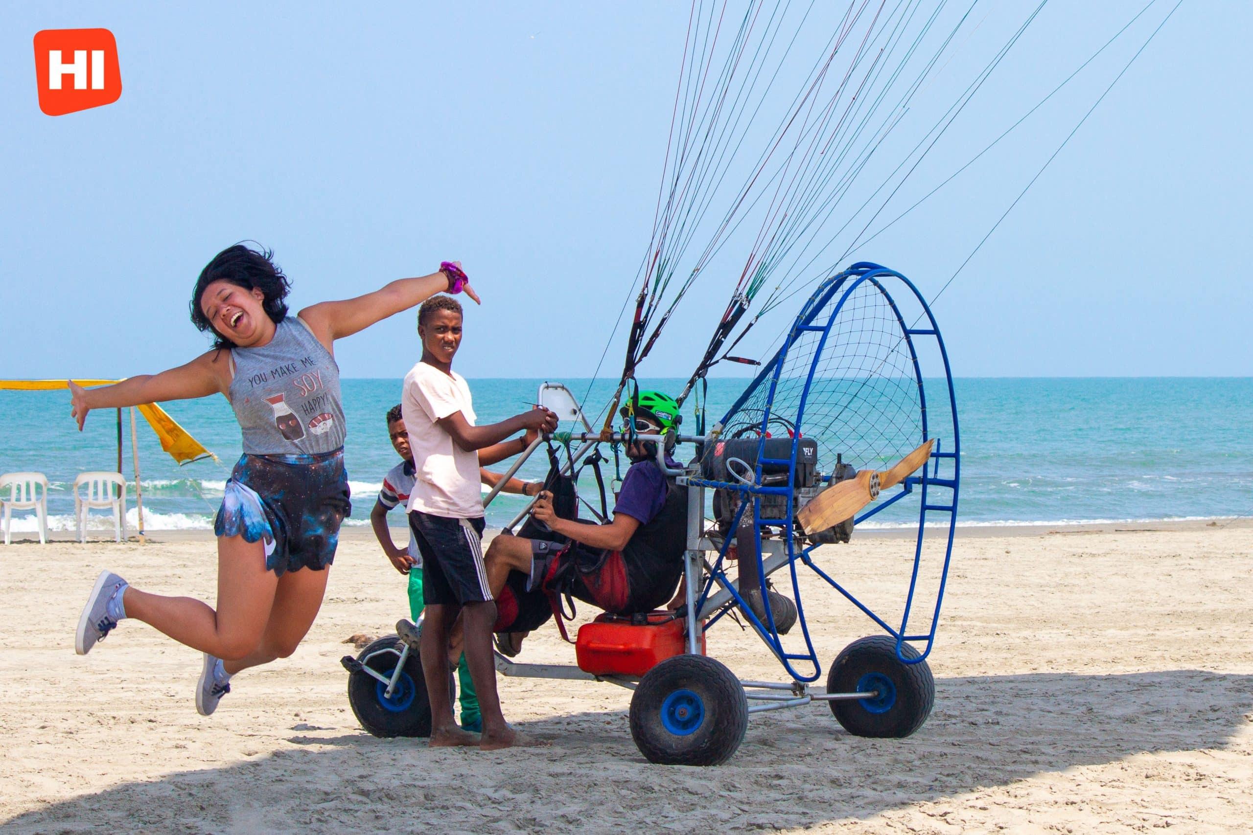 Cartagena Paragliding